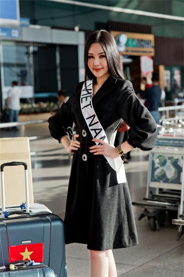 """Bộ Văn hóa yêu cầu """"tước"""" vương miện, Ngân Anh vẫn dự thi Hoa hậu quốc tế? - Ảnh 2."""