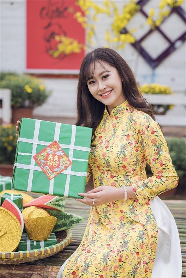 Tân hoa khôi Imiss Thăng Long khoe sắc trong bộ ảnh đón Xuân sớm - Ảnh 3.