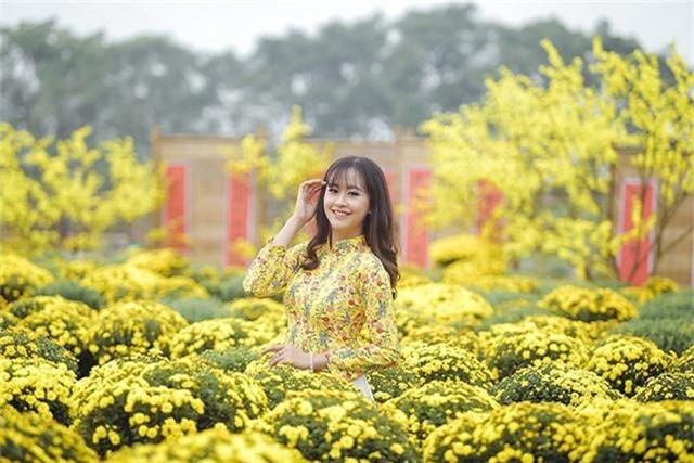 Tân hoa khôi Imiss Thăng Long khoe sắc trong bộ ảnh đón Xuân sớm - Ảnh 6.