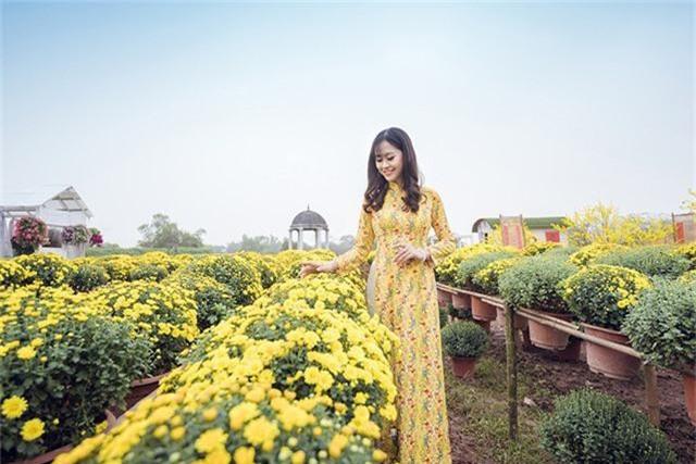 Tân hoa khôi Imiss Thăng Long khoe sắc trong bộ ảnh đón Xuân sớm - Ảnh 7.