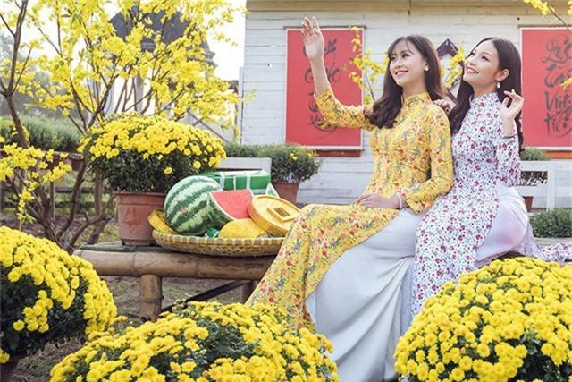 Tân hoa khôi Imiss Thăng Long khoe sắc trong bộ ảnh đón Xuân sớm - Ảnh 9.