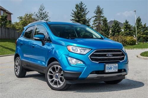 4. Ford EcoSport Titanium 4x4 2019.