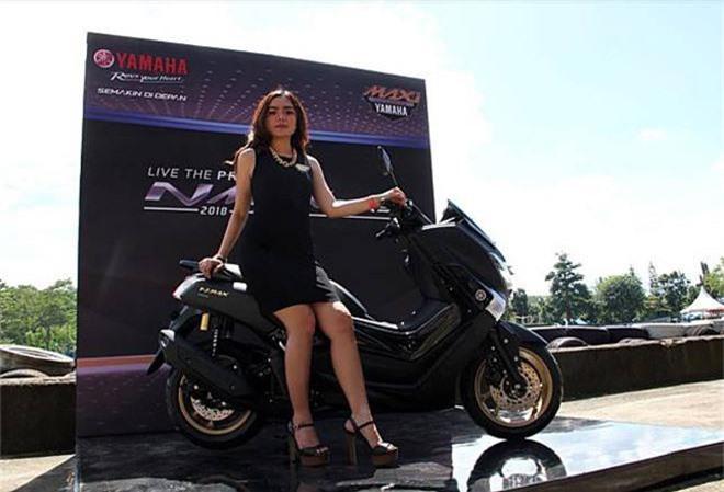 Yamaha sắp ra mắt bản NMax Hybrid,