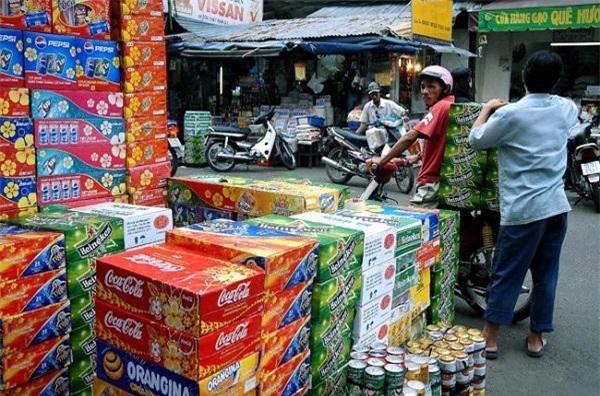 Theo các đại lý, Các sản phẩm bia sản xuất trong nước chiếm thị phần chủ yếu