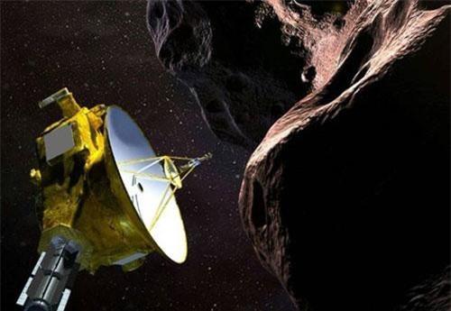 àu thăm dò New Horizons bay ngang qua và chụp ảnh Ultima Thule thuộc vành đai Kuiper - Ảnh: AFP
