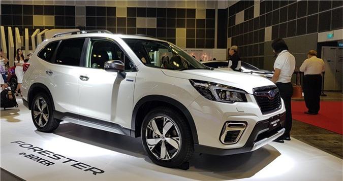 Subaru Forester e-Boxer hoàn toàn mới trình làng. Subaru vừa giới thiệu mẫu SUV Forester phiên bản động cơ Hybrid và được trang bị nhiều tính năng ấn tượng giúp tối ưu hóa sự an toàn. (CHI TIẾT)