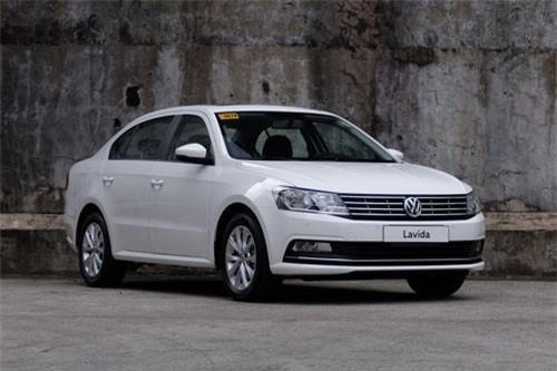 4. Volkswagen Lavida (doanh số: 513.371 chiếc).