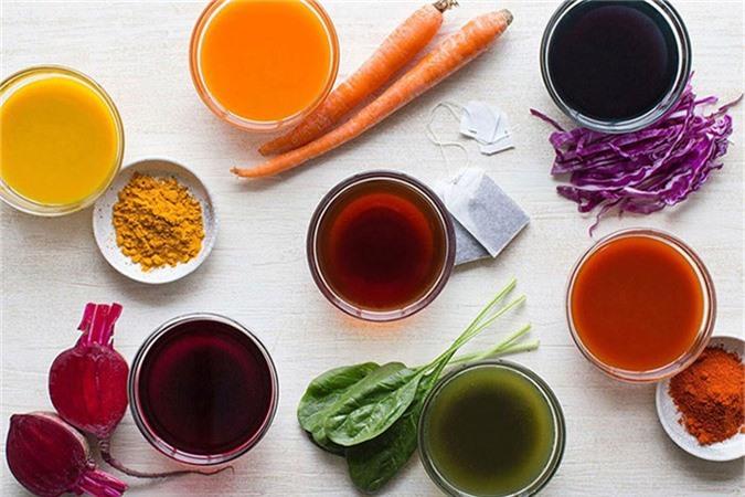 Màu tự nhiên của thực phẩm cung cấp nhiều vitamin, khoáng tố nuôi dưỡng cơ thể và chống lại bệnh tật.