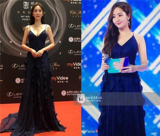 Khéo sửa váy, Park Min Young đẹp mà vẫn sexy hơn cả mỹ nữ bị cắt sóng trên truyền hình vì khoe vòng 1 quá đà - Ảnh 7.
