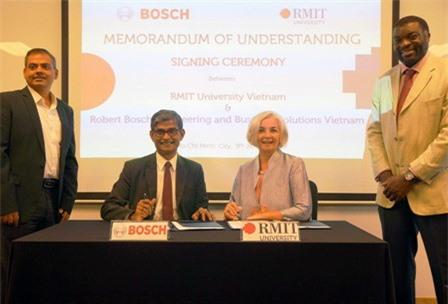 Bosch và RMIT ký kết hợp tác nâng cao trải nghiệm cho sinh viên