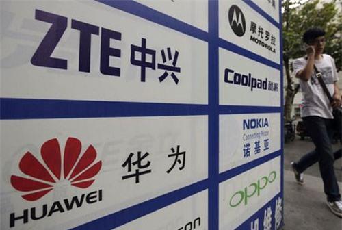 Huawei và ZTE là hai hãng viễn thông hàng đầu của Trung Quốc. (Ảnh: Reuters)