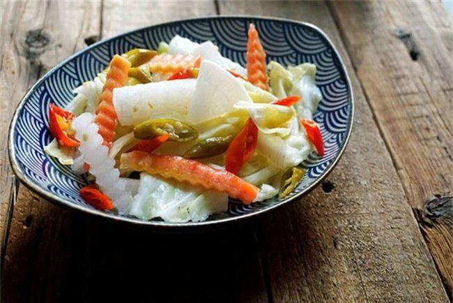 Học ngay cách làm rau củ trộn chua cay chống ngán Tết này - Ảnh 6.