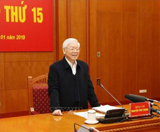 Tổng Bí thư Nguyễn Phú Trọng. (Ảnh: Dân trí)