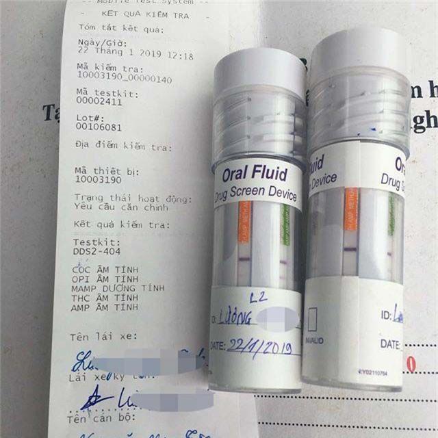 Bị phát hiện dương tính với ma túy, tài xế container khai có đập đá - 2