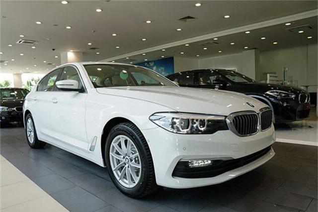 BMW 5-series mới tại Việt Nam.