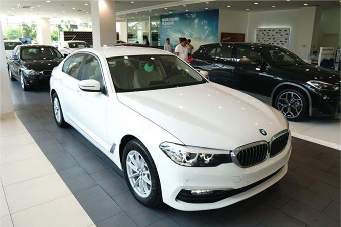 Can canh BMW 5-Series 2019 moi gia 2,4 ty tai Viet Nam