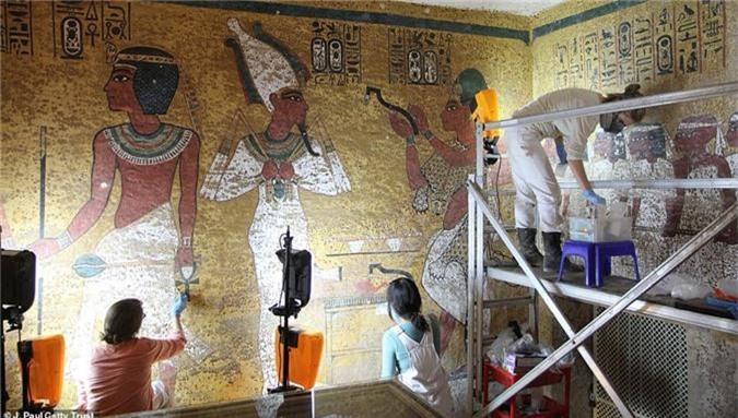 Mo lang mo vua Tutankhamun, choang vang vi canh tuong nay-Hinh-6