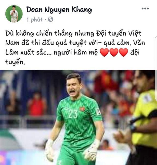 Sao Việt dàn nhiều lời khen cho đội tuyển Việt Nam dù không được vào Bán kết - 3