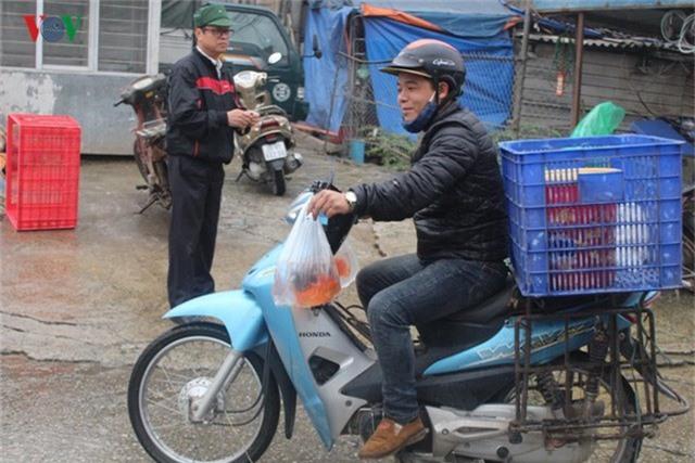 Chợ cá lớn nhất Hà Nội nhộn nhịp trước lễ ông Công ông Táo - Ảnh 11.