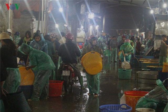 Chợ cá lớn nhất Hà Nội nhộn nhịp trước lễ ông Công ông Táo - Ảnh 2.