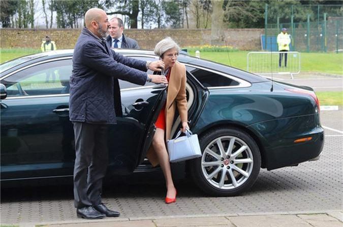 Chiếc Jaguar XJ Theresa May của Thủ tướng Anh Theresa May