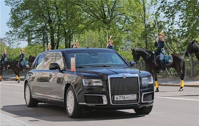 Chiếc Limo của Tổng thống Nga Vladimir Putin