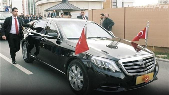 Siêu xe của Tổng thống Thổ Nhĩ Kỳ