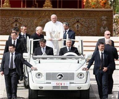 Siêu xe của Đức Giáo Hoàng Francis