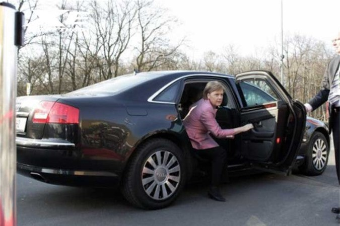 Xe Audi A8 L Security của Thủ tướng Đức Angela Markel