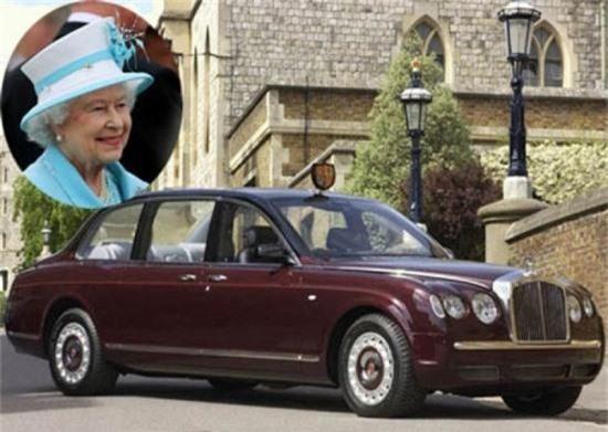 Chiếc Bentley Arnage Nữ hoàng Anh Elizabeth II
