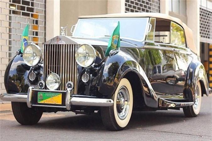 Chiếc Rolls – Royce Silver Wraith của Tổng thống Brazil Michel Temer