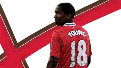 Mảnh đời kỳ lạ của Ashley Young tại Man United