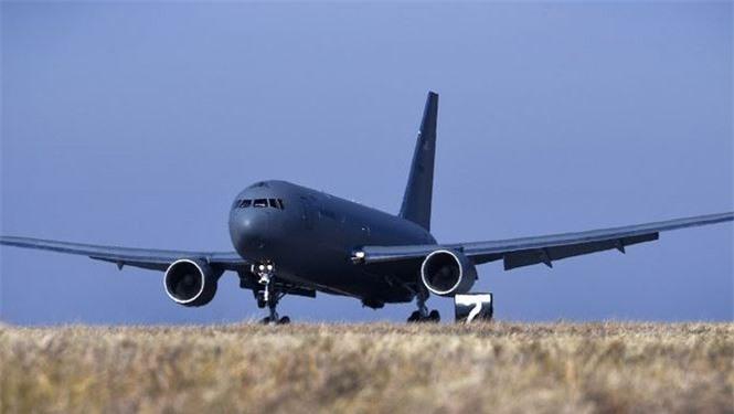 Máy bay chiến lược KC-46 Pegasus đầu tiên của Không quân Mỹ