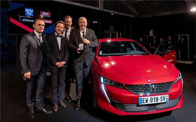 """Peugeot 508 thế hệ mới thắng giải """"Xe hơi đẹp nhất Thế giới năm 2018"""" ảnh 1"""
