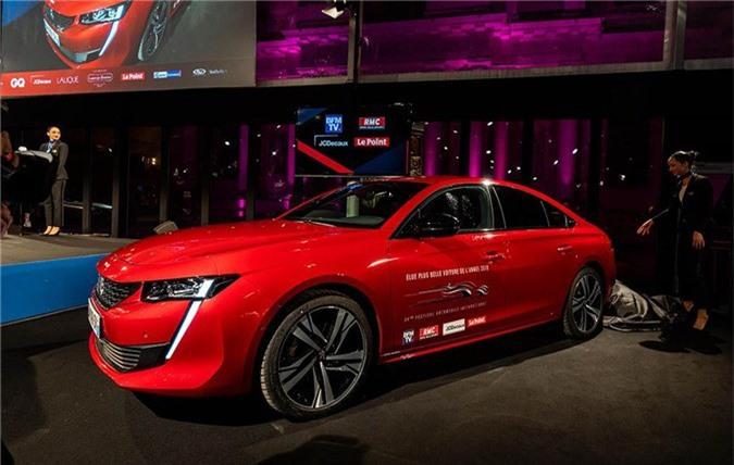 """Peugeot 508 thế hệ mới thắng giải """"Xe hơi đẹp nhất Thế giới năm 2018"""" ảnh 3"""