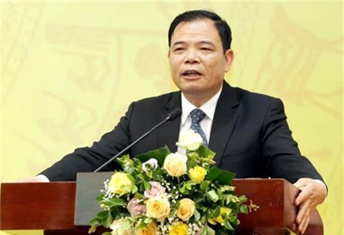 Bộ trưởng Nguyễn Xuân Cường phát biểu tại hội nghị triển khai công tác ngành khoa học và công nghệ năm 2019. Ảnh: Anh Tuấn.