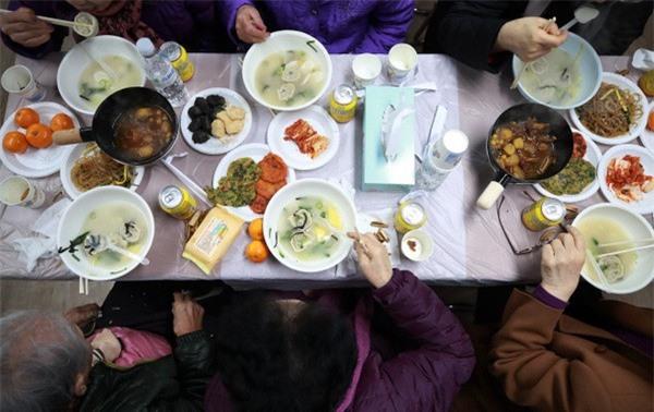 Mâm cơm truyền thống của người Hàn Quốc ( Nguồn: