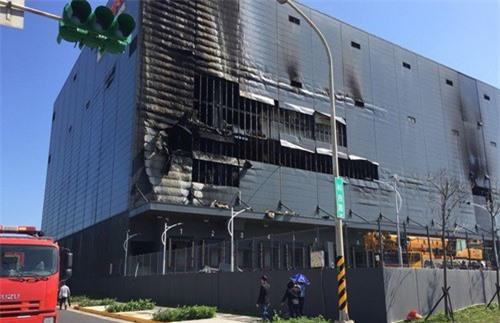 Hiện trường nơi xảy ra vụ cháy ngày 6/2