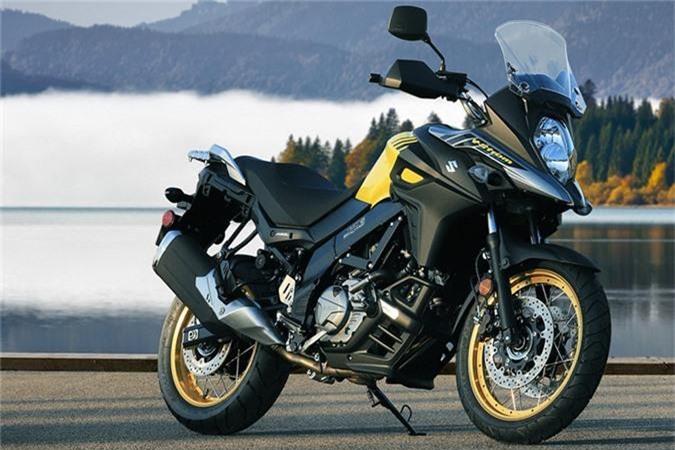 Ngắm Suzuki V-Strom 650 XT ABS giá 243 triệu đồng. Mẫu xe môtô Suzuki V-Strom 650 XT ABS phiên bản 2019 vừa ra mắt thị trường Ấn Độ chỉ có một số bổ