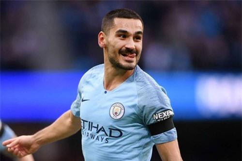Tiền vệ: Ilkay Gundogan (Man City).