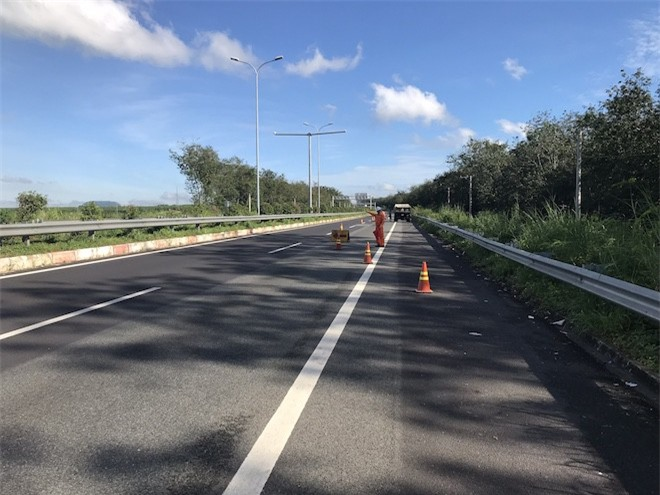 Cao tốc Long Thành- Dầu Giây (Ảnh: VEC)