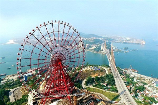 Các công trình lớn do tư nhân đầu tư đem lại sự phát triển bứt phá cho du lịch Quảng Ninh.