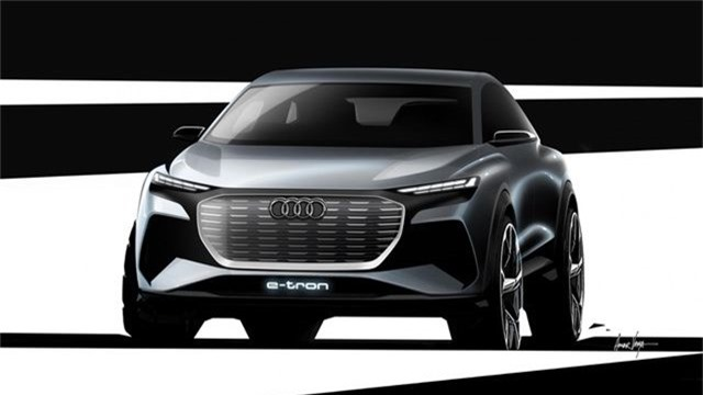 Audi hé lộ hình ảnh SUV chạy điện Q4 e-tron sắp ra mắt. Ý tưởng về một mẫu SUV chạy điện cỡ nhỏ sẽ được Audi giới thiệu tại Triển lãm ô tô Geneva vào tháng sau trong hình hài của chiếc Q4 e-tron. (CHI TIẾT)