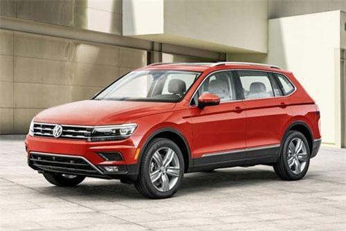6. Volkswagen Tiguan 2019 (giá khởi điểm: 24.495 USD).