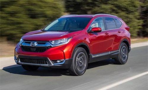 Honda CR-V bán ra 2.812 xe trong tháng 1 vừa qua