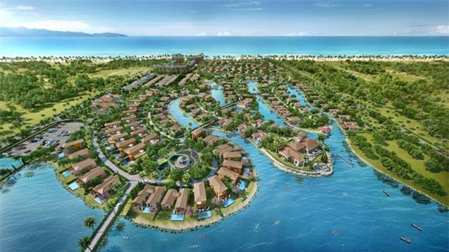 Phối cảnh toàn bộ dự án NovaBeach Cam Ranh Resort & Vilalas có quy mô 23ha (ảnh TL)