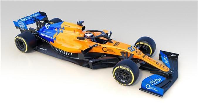 Siêu xe Công thức 1 McLaren được khoác áo mới. Những ngôi sao của cuộc đua Công thức 1 (Formula 1) Lando Norris và Carlos Sainz sẽ cầm lái chiếc MCL34 phiên bản Papaya Spark độc đáo vừa ra mắt năm ngoái. (CHI TIẾT)