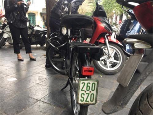 Velosolex 3800, Xe cổ tại Hà Nội, Xe cổ độc nhất Việt Nam,