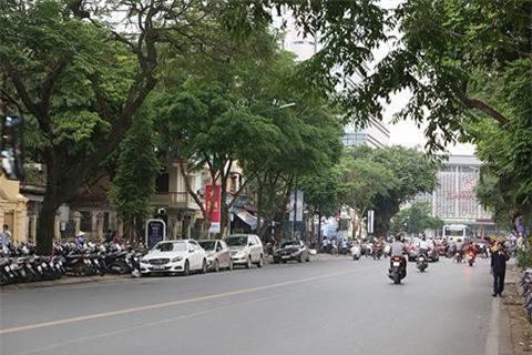 Đường Trần Hưng Đạo (HN)m một trong những tuyến đường tạm thời cấm giữ xe