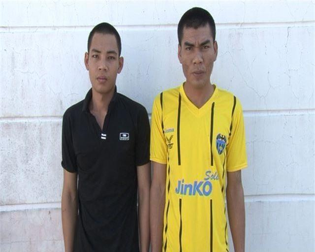 Hai thanh niên dùng hung khí cướp tài sản của nhà dân giữa đồng - 1